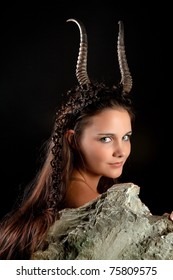 Capricorn or Goat woman