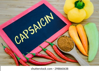 Capsaicin is an active component of chili peppers
