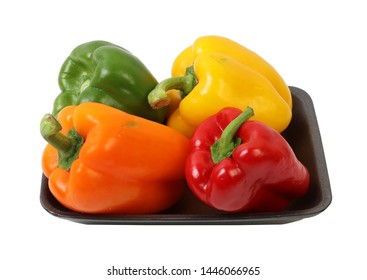 Capsicum Mix Colour in Styrofoam Plate