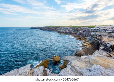 Captain Cook Drive at Kurnell is on the south eastern  of Botany Bay where  Captain James Cook landed and making first contact with the original inhabitants of the area, New South Wales Australia