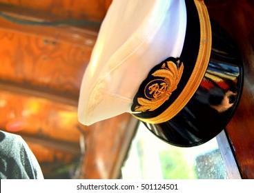 Ship Captain Hat Images, Stock Photos & Vectors   Shutterstock