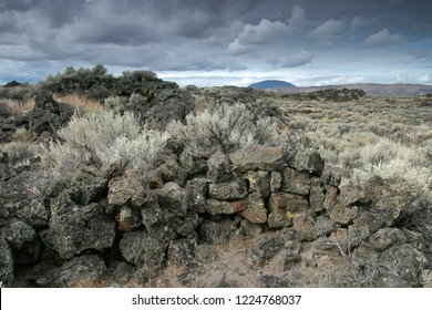 Captain Jack's Stronghold, Lava Beds National Monument, California, USA