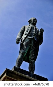 Captain James Cook Statue Whitby North Yorkshire England UK