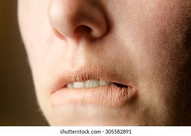 Captivating lips