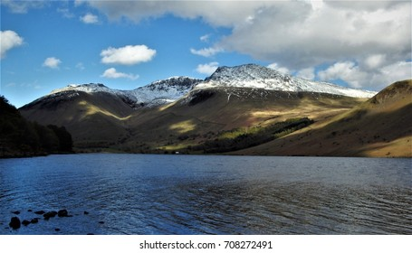 Capture of whole scafell pike mountain, English highest peak.