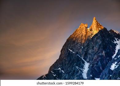 captured at Himalayan range of Badrinath , Uttarakhand, india