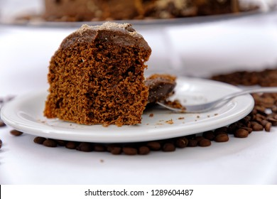 Capuccino homemade cake
