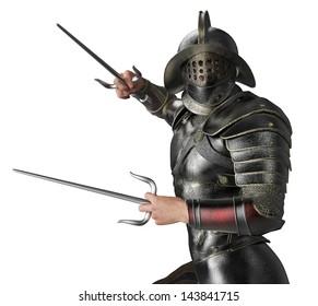 caput soldier close up attack