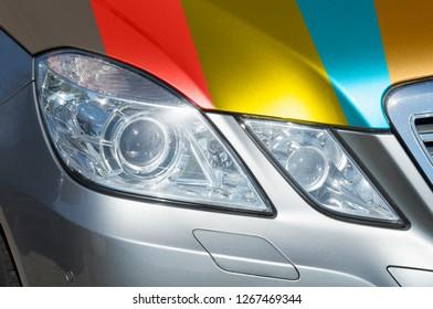 Car adhesive film