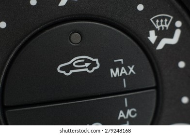 Car air conditioning control switch.