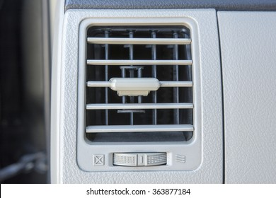 Car air convitioning vents close