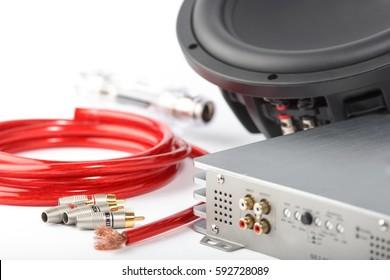 car amplifier, radio