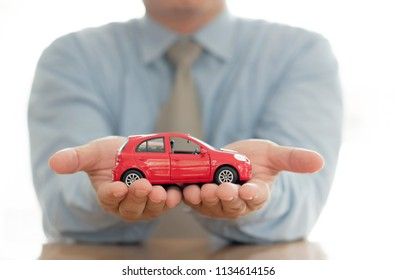 Car (automobile) insurance and collision damage waiver concepts