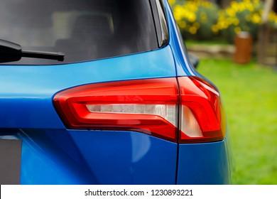 Car back tail lights