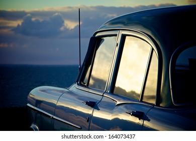 Car at Beach