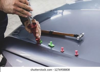 Car Body Repair, Dent Repair, Equipment, Kiss