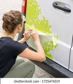 Car Branding with adhesive foil   Sign making