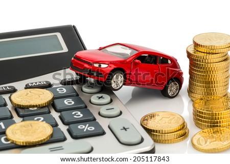car calculator rising costs buying car stock photo edit now
