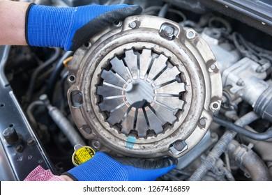 Car clutch pressure plate replacement