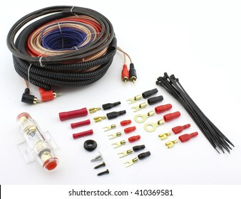 Car complete amplifier instal wiring kit