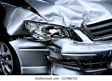 Car crash background