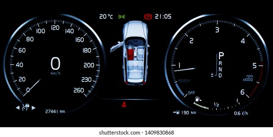 Instrument Cluster Images, Stock Photos & Vectors | Shutterstock