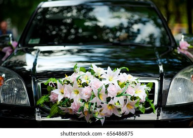 Wedding Car Decoration Images, Stock Photos & Vectors | Shutterstock