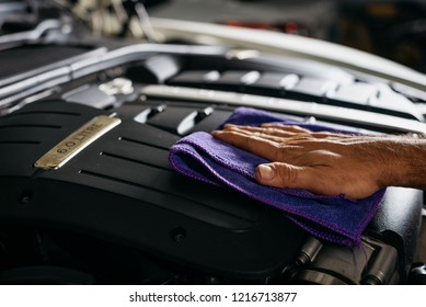 Car detailing series: Cleaning luxury car engine