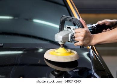 Car detailing series : Polishing black car