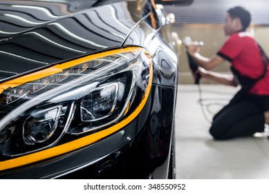 Car detailing series : Polishing black car