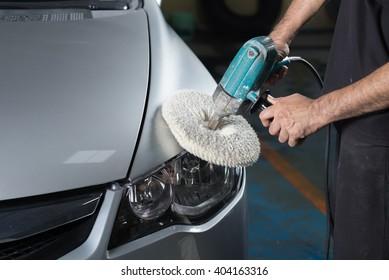 Car detailing series : Polishing silver car