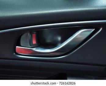 Car door handle from inside