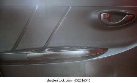 Car door panel in eco cars