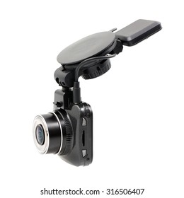 Car DVR isolated on a white background