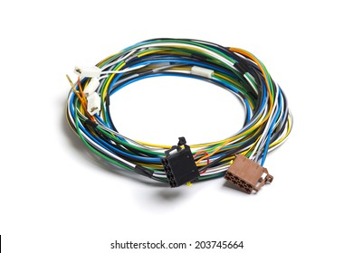 Strange Automotive Wiring Harness Images Stock Photos Vectors Shutterstock Wiring Cloud Hisonuggs Outletorg