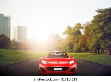 Car Elegance Vehicle Transportation Luxury Performance Concept