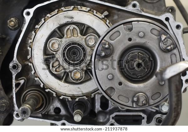 Car Engine Bearings Stock Photo (Edit Now) 211937878
