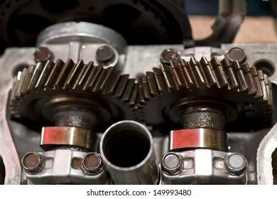 Car engine part, Engine and repair.