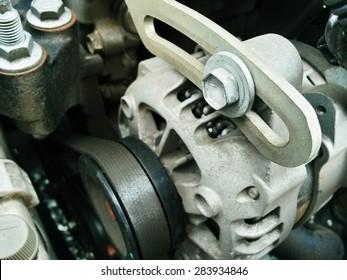 car engine room