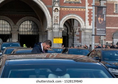 Car Escort For The Visit Of King Willem Alexander And King Filipe At The Rijksmuseum Amsterdam The Netherlands 2019