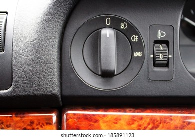 Car fog lights switch