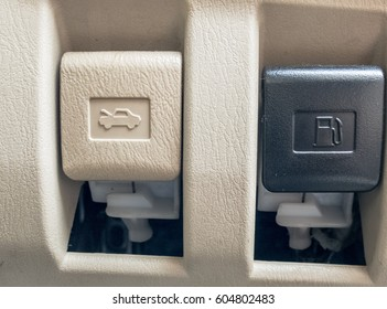 Car fuel opener switch