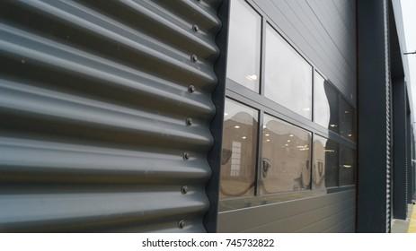 Car Garage Exterior Angle