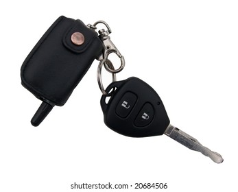 The car ignition key