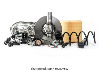 Car inspection, spare parts, car accessories, air filters, brake disc, headlights