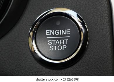 car interior, key, start&&stop