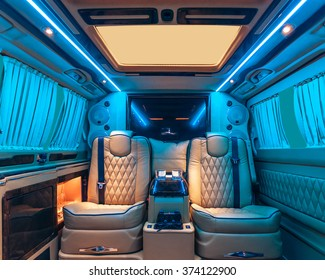 Car interior luxury