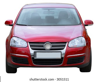 Car isolated on white background