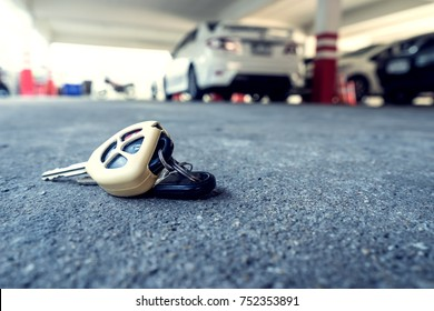 car key fall on ground in scene of locksmith service when you lost your key think  me