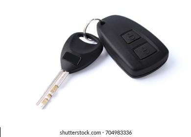 Car Key Remote isolated on white Background